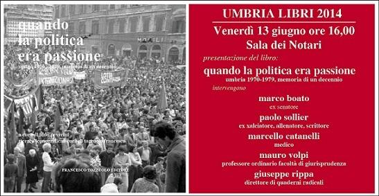 Umbria libri 2014 presentazione del volume quando la - Quando scade la presentazione del 730 ...